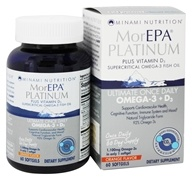 MorEPA Platinum Ultimate Once Daily Omega-3 + D3