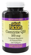 Coenzyme Q10 Enhanced Absorption All-Natural Form