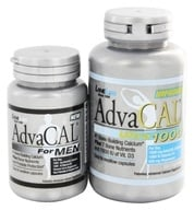 Lane Labs - AdvaCAL Ultra 1000 with Trial AdvaCAL for Men - 120 Capsules/42 Capsules