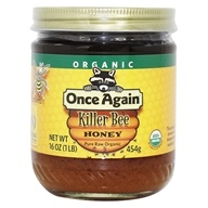 Dawes Hills Pure Raw Organic Grade A Honey Killer Bee
