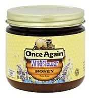 Pure Raw Wildflower Honey