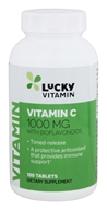 LuckyVitamin Vitamin C Timed Release With Bioflavonoids 10 ...