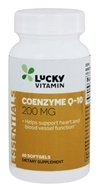 LuckyVitamin - Coenzyme Q-10 200 mg. - 60 Softgels