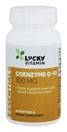 LuckyVitamin - Coenzyme Q-10 100 mg. - 60 Softgels
