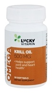 LuckyVitamin Krill Oil 500 mg. - 30 Softgels