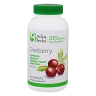 LuckyHerbs - Cranberry by LuckyVitamin 850 mg. - 100 Capsules
