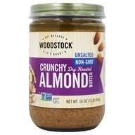 All-Natural Almond Butter Crunchy Unsalted