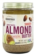 All-Natural Raw Almond Butter Smooth Unsalted