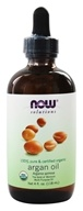 100% Pure and Certified Organic Argan Oil