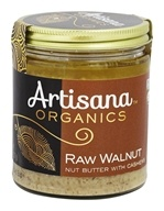 100% Organic Raw Walnut Butter