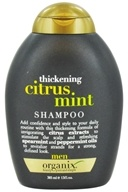 Organix - Shampoo Thickening Citrus Mint For Men - 13 oz.