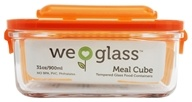 Glass Meal Cube