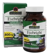 Eyebright Single Herb Supplement