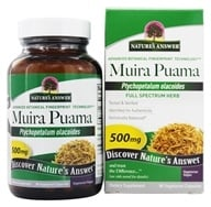 Muira Puama Bark Once Daily Single Herb Supplement