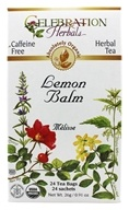 Organic Caffeine Free Lemon Balm Herbal Tea