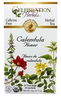 Organic Caffeine Free Calendula Flower Herbal Tea