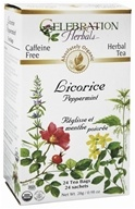 Organic Caffeine Free Licorice Peppermint