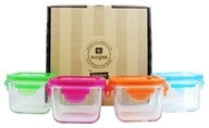 Glass Snack Cubes Garden Pack - 4 Cubes