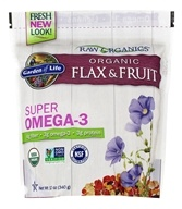 Real Cold Milled Raw Organic Flax Seed + Raw Organic Antioxidant Fruit