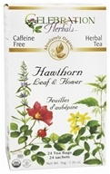 Organic Caffeine Free Hawthorn Leaf & Flower Herbal Tea