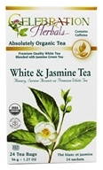Organic White & Jasmine Herbal Tea