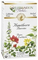 Organic Caffeine Free Hawthorn Berries Herbal Tea