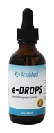 AnuMed - e-HCG Fat Release System Liquid Drops - 1.86 oz.