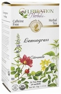 Organic Caffeine Free Lemongrass Herbal Tea