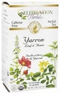 Organic Caffeine Yarrow Leaf & Flower Herbal Tea