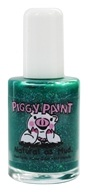 Piggy Paint - Nail Polish Puttin' On The Glitz Emerald Green Glitter - 0.5 oz.