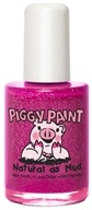 Piggy Paint - Nail Polish Glamour Girl Purple Shimmer with Silver Glitter - 0.5 oz.