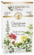 Organic Caffeine Free Oatstraw Green Flowering Herbal Tea