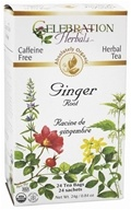 Organic Caffeine Free Ginger Root Herbal Tea