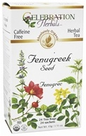 Organic Caffeine Free Fenugreek Seed Herbal Tea