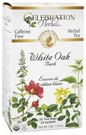 Organic Caffeine Free White Oak Bark Herbal Tea