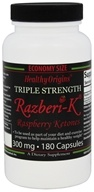 Healthy Origins - Razberi-K Triple Strength Raspberry Ketones 300 mg. - 180 Capsules