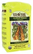 Yerba Mate Unsmoked Green Energy Loose Tea