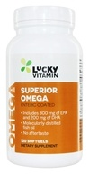 LuckyVitamin Superior Omega-3 - 120 Enteric Coated Softgel ...
