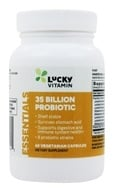 LuckyVitamin - 35 Billion Probiotic Shelf Stable 8 Strains - 60 Vegetarian Capsules