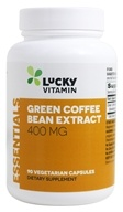 LuckyVitamin - Green Coffee Bean Extract 400 mg. - 90 Vegetarian Capsules