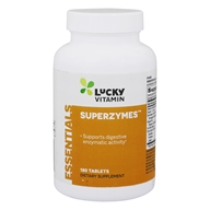 LuckyVitamin - Superzymes - 180 Tablets