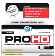 PRO-HD Professional Grade Thermogenic Testosterone Booster