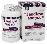 I And Love And You - My Joints Ache Daily Joint Supplement For Dogs - 120 Chewable Tablets