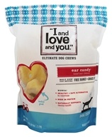 I And Love And You - Ear Candy Cow Ears Dog Chews - 5 Pack