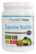 Supreme Nutrition Greens Drink Mix