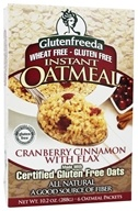 Instant Oatmeal Cranberry Cinnamon with Flax 6 Packets