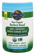 Perfect Food Raw 100% Organic Young Wheat Grass Juice Powder