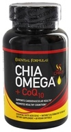 Chia Omega + CoQ10 - 60 Vegan Softgels