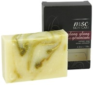 Metropolis Soap Co. - MSC Skin Care Artisan Bar Soap Ylang Ylang and Geranium - 4.2 oz.