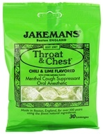 Throat & Chest Menthol Cough Suppressant Lozenges
